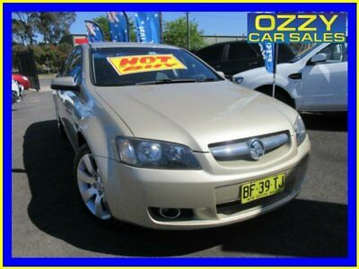 2009 Holden Commodore VE MY09.5 International Gold Automatic 4sp A Sedan