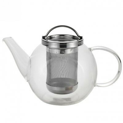 BonJour Coffee and Tea 1040ml Harmony Glass Teapot. Free Shipping