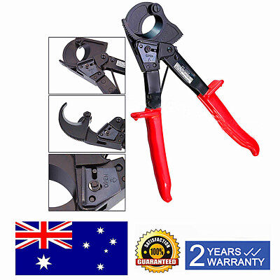 Aluminum Copper Ratchet Cable Cutter Cut Up To 240mm² Ratcheting Wire Cut Tool