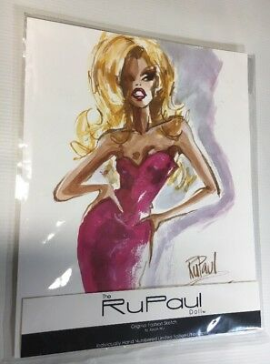 RUPAUL Jason Wu Limited Edition Signed Numbered lithograph Integrity Toys NEW