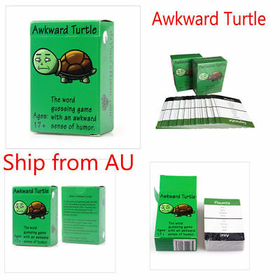 Funny Awkward Turtle+Taboo Together Adult Cards Party Game AU SELLER FREE SHIP
