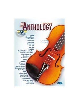 Anthology (Violin), Volume 1. Sheet Music, CD