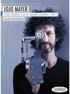 Jojo Mayer: Secret Weapons For The Modern Drummer - Par.... Drums DVD (Region 0)