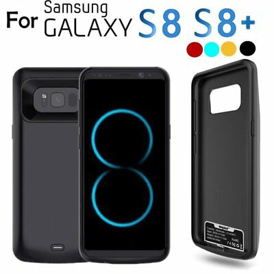 For Samsung Galaxy S8 S8+ S9 Battery Charging Case 8500mAh Rechargeable Charger