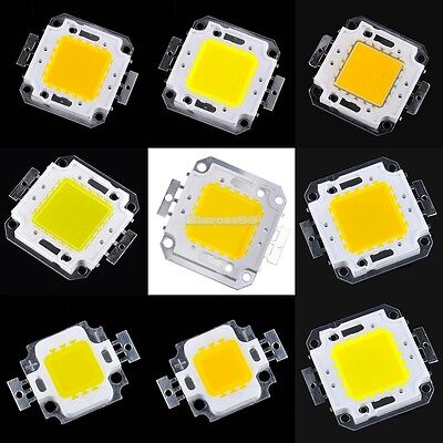 10/20/30/50/100W COB High Power LED Lampe Licht Lampe SMD Chips Bulb  S+++ Neue