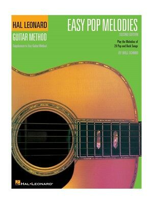 Hal Leonard Guitar Method: Easy Pop Melodies - 3rd Edition. Sheet Music