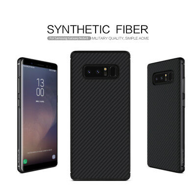 Nillkin Carbon Fiber Matte Back Case Cover [Compatible with Magnetic Car Holder]