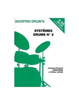 Systèmes Drums N°2. Book, CD