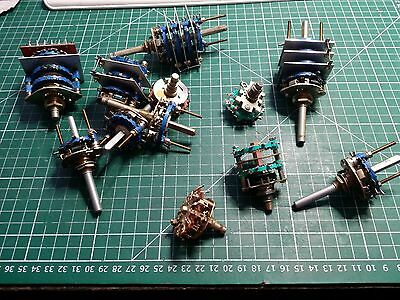 ROTARY SWITCH Joblot , ALLEN BRADLEY AND OTHERS