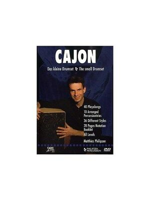 Matthias Philipzen: Cajon - The Small Drumset (DVD). DVD (Region 0)