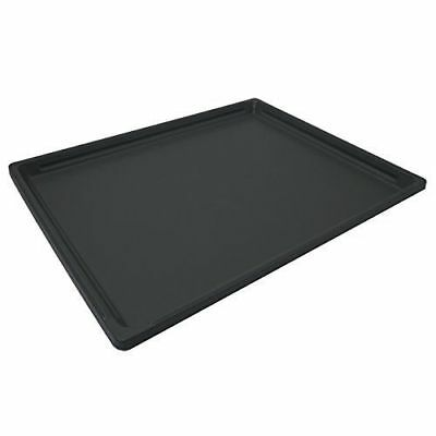 Plastic Bottom Tray Pet Dog Pup Durable Home Replacement Tray Medium Black New