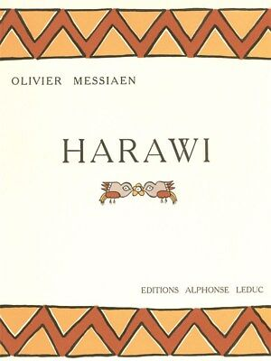Harawi Pour Chant Et Piano. Sheet Music