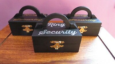 Ring Security Box, Ring Bearer, Page Boy, Wedding Rings, WEDDING RING