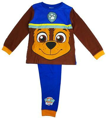 Boys Official Paw Patrol CHASE  Puppy Dog Novelty Pyjamas 18 Months to 6 Years