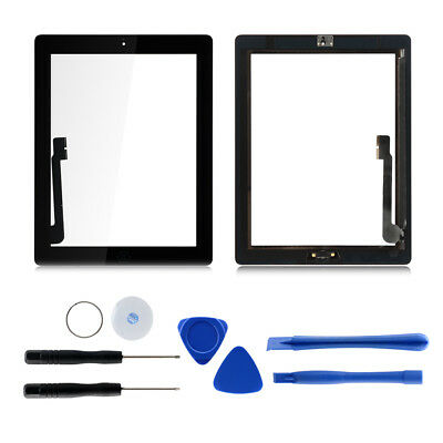 Touch Screen Glass Digitizer Replacement Kits For iPad 3 A1403 A1430 A1416 Hot