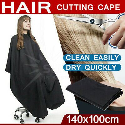 Hair Cutting Cape Hairdressing Barber Gown Cloth Salon Waterproof Nylon OZ