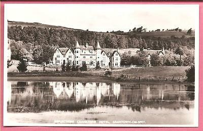Reflections Craiglynne Hotel, Grantown-on-Spey, Scotland postcard. Real Photo.