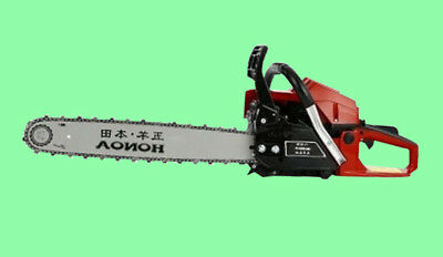 "high-power 9868 gasoline saws chain saw wood saw 20"" 62CC New 1pcs"