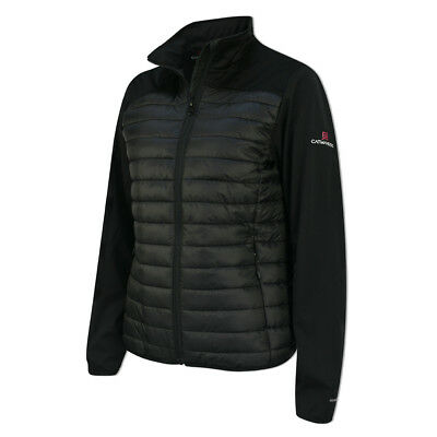 Catmandoo Windproof Hybrid Jacket with WindTech in Black