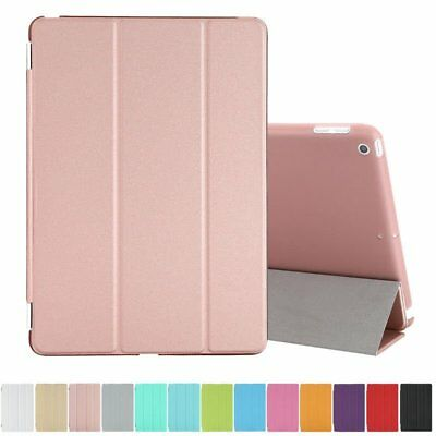 New iPad 9.7 inch 2017 & 2018 Released Slim Leather Smart Case Shockproof Cover