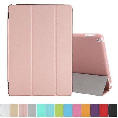 New iPad 9.7 inch  2017 A1822 A1823 Slim Leather Smart Case Shockproof Cover