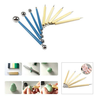 Sculpting Modeling Ball Stylus Dotting Set for Embossing Clay Pottery Clay Tools