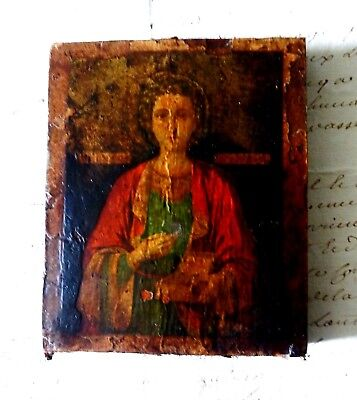 17th./18th.century Russian/Greek? icon of Paraskeve