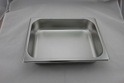 Stainless Steel Bain Marie Tray 1/2 Size (65mm depth)