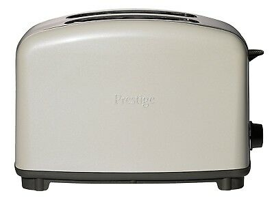 Prestige 2-Slice Wide Slot Toaster Crumb Tray Defrost Reheat Variable Browning