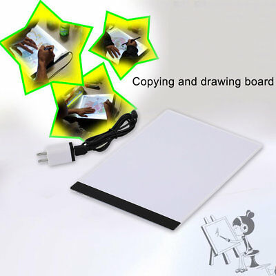 Pratical A4 LED Light Pad Copy Pad Drawing Tablet LED Tracing Painting Board BY