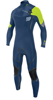 173034-0 NP Wetsuit Mission Fullsuit 5/4/3 Front Zip 2017 - Shipping Europe Free