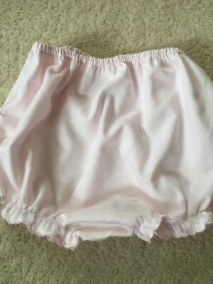Sarah Louise Pink Baby For Frilly Knickers 6-12m Good Condition
