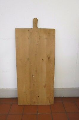 Large French Vintage Wooden Breadboard Chopping Board Serving Tray
