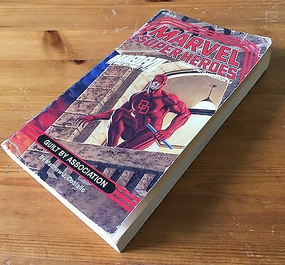 Marvel Super Heroes Adventure Gamebook #8 - Daredevil Guilt By Association - TSR
