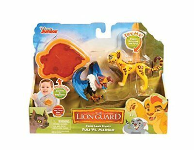 """JP Lion Guard """"Fuli Vs Mzingo"""" Action Figure with Arm Band (Pack of 2)"""