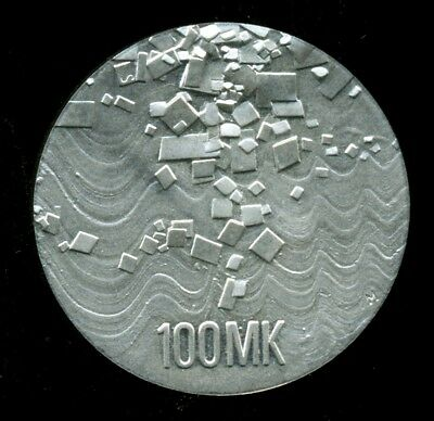 Finland  Finnish Silver Coin 100 Markka 75th Anniversary of Independence 1992