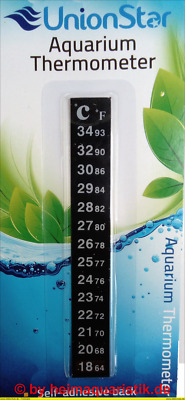 3/5/10x Aquarium Thermometer Digitales Klebethermometer Aquariumthermometer