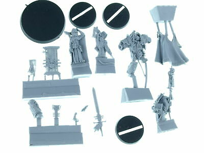Forgeworld - Inquisitor Lord Hector Rex And Retinue - *BITS*