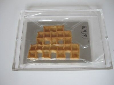 Invader - Space Waffle - 2011 - Signed