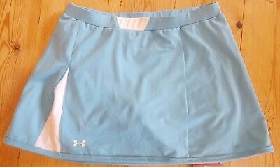 Under Armour Women's Advantage Tennis skirt light blue Small 1001443 very rare