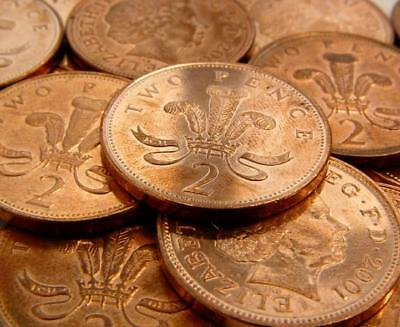 2p 2 Pence Two Pence - Queen Elizabeth 2nd (Buy One Get One Free)