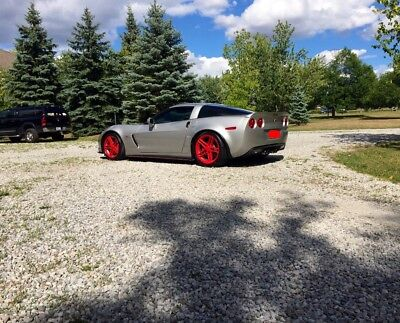 Chevrolet: Corvette Z06 Z06 505+hp two tone interior, wheels easily returned to stock, air aid intake!