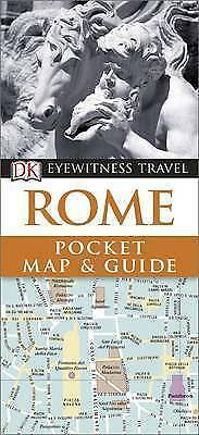 DK Eyewitness Pocket Map and Guide: Rome, , New Book