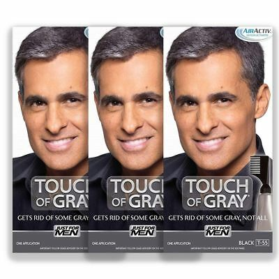 Just For Men Touch Of Grey Hair Colourant Dye Various Shades 3 Packs New