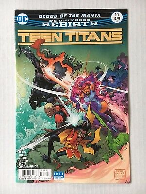 DC Comics: Teen Titans #10 (2017) Bagged and Boarded BN