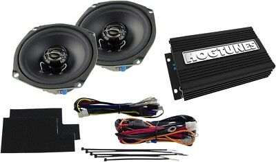 Hogtunes Amp & Front Speaker Kit For 1998-2013 Harley Flht Flhx Rev200Sgkit-Aa