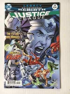DC Comics: Justice League #29 (2017) Bagged and Boarded BN