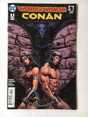 DC Comics: Wonder Woman/Conan #1 of 6 Variant Cover (2017) Bagged and Boarded BN