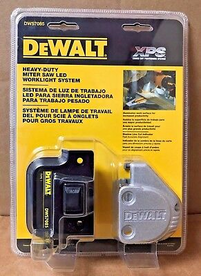 DeWalt DWS7085 Miter Saw LED Worklight System for DW717, DW718 FEATURE