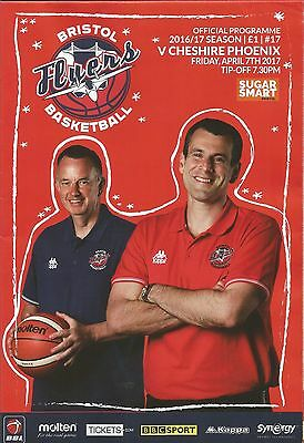 BRISTOL FLYERS  v CHESHIRE PHOENIX  April 17th 2017